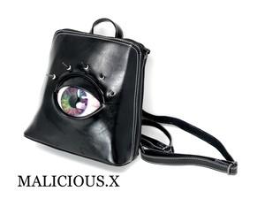 eye backpack / rainbow(本革)