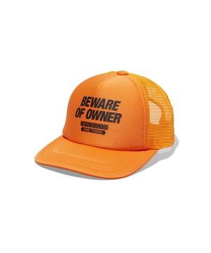NEIGHBORHOOD ONE THIRD BEWARE / E-CAP メッシュキャップ ( オレンジ )ネイバーフッド ワンサード
