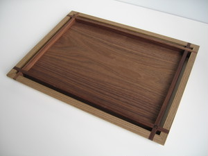 トレー長方形 (L) 神代 tray rectangle (L) jindai