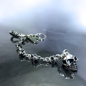 KEY CHAIN [SKULL] in collaboration with SUGIZO / キーチェーン スカル・スギゾーコラボレーション
