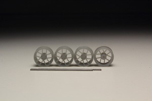 TSW Geneva タイプ 3Dプリント ホイール 1/64 未塗装