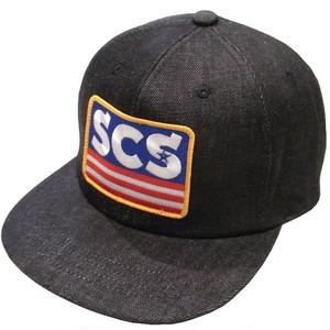 SUNNY C SIDER(サニーシーサイダー) / 17SCS-AW-BOX DENIM CAP(キャップ)