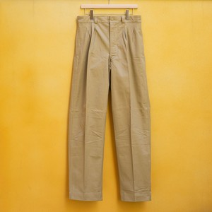 OLD FRENCH ARMY CHINO PANTS DEAD STOCK - 5