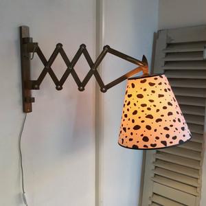 Vintage Scissor Wall Lamp 1980's オランダ