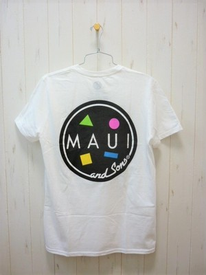 MAUI and Sons Cookie Logo S/S Tee (マウイ&サンズ クッキーロゴ Tシャツ)