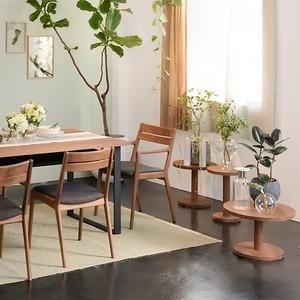 リノ サイドテーブル L ウォールナット