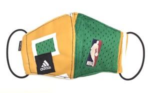 【デザイナーズマスク 吸水速乾COOLMAX使用 日本製】NBA adidas SPORTS MASK CTMR 0227012