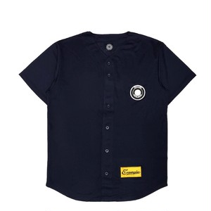 MESH BASEBALL SHIRT /NAVY