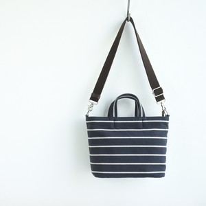 BORDER TOTE FS (2WAY)/ DARK NAVY