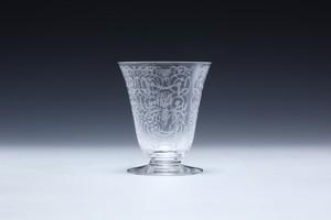 ⑰バカラ ミケランジェロ 白ワイングラス Baccara Michelangelo White Wine Glass