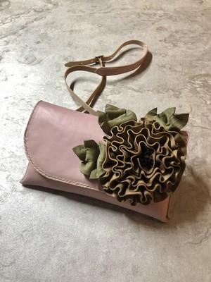 flower bag  pink  (フラワーバッグ ピンク)一点もの