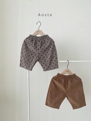 【予約販売】goof pants〈Aosta〉