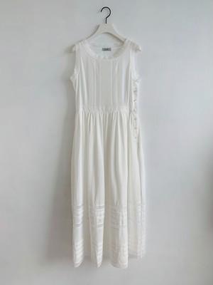 Enlee. マキシコットンレースドレス