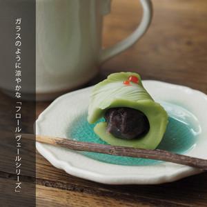 FleursVerre-フロールヴェール- プティプレート ラウンド 52050015 maison blanche(メゾンブランシュ)【日本製】