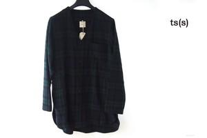 ティーエスエス|ts(s)|イセタンメンズ別注ブラックウォッチ柄ウールジャケット|2