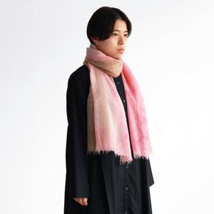 薄くて軽くて暖かいカシミヤストール・KATA - 1 color