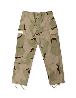 Based Custom Asymmetrical BDU Pants / TRI-COLOR DESERT