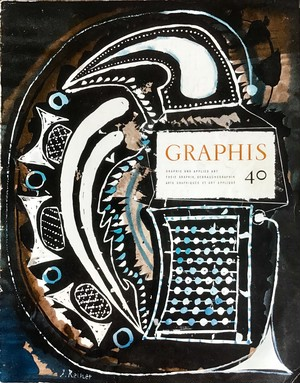 GRAPHIS No. 40  International Bi-Monthly for Graphic and Applied Art