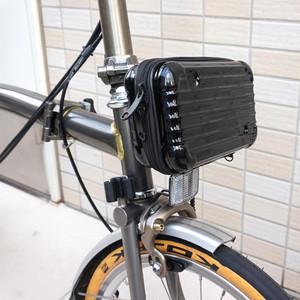 BROMPTON ブロンプトン用 ハードシェル フロントバッグ (Mini hard shell front bag for BROMPTON)