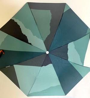 Multicolor Pattern Umbrella Camo