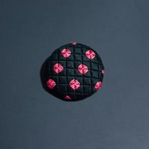 刺繍ブローチ ドキンドキン