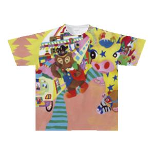 オリジナルTシャツ:妄想エンジン全開娘作「おさんぽくまさん」