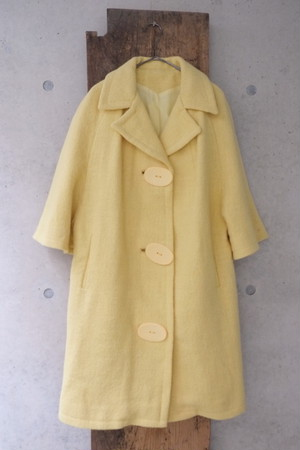 vintage/yellow magic coat.