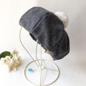 ベレー帽 size 48〜50㎝*No.1078*23