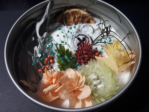 アロマワックスマグネットケース■マカデミアナッツの香り