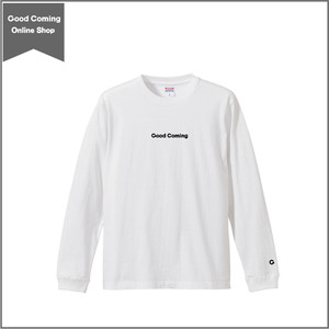 オリジナル刺繍ロンT (ホワイト)