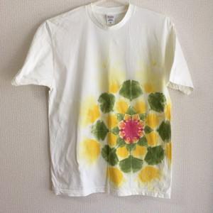 【XL】タイダイ染め 曼荼羅
