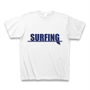 T-Lab SURFINGロゴクールネック(丸首)Tシャツ