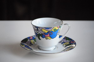 Vintage Noritake Cup and Saucer