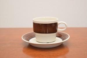 アラビアイナリコーヒーカップ&ソーサー【ARABIA/Inari】北欧 食器・雑貨 ヴィンテージ | ALKU