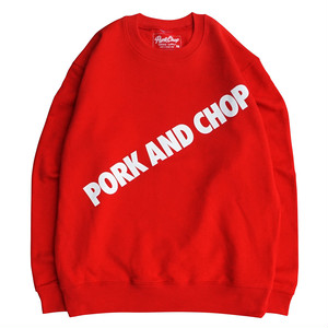 PORK AND CHOP SWEAT/RED