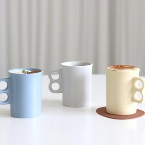 double ring mug 280ml / ダブルリング マグカップ セラミックコップ 韓国 インテリア 雑貨