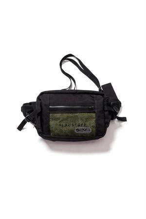 Waist bag  BLACK×YELLOW  18AW-FS×OD-02