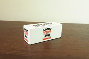 【 120 モノクロネガ( C-41現像 )】 ILFORD( イルフォード ) XP2 Super400