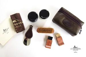 コルドヌリ・アングレース|LA CORDONNERIE ANGLAISE|靴磨きセット|シューケアポーチセット