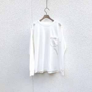 UNUSED long sleeve pocket t shirt