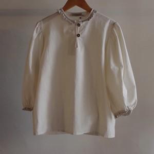 Cotton Pullover Shirt / コットン プルオーバー シャツ