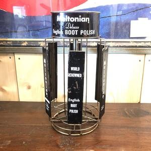 Meltonian BOOT POLISH ビンテージディスプレイラック スタンド corm アメリカ USA