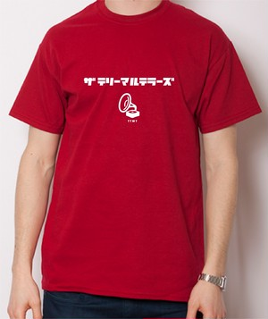 THE TERRYMARUTERRORS T Shirt (color Red)