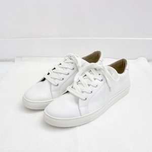 【 Maison U 】calf leather sneaker white