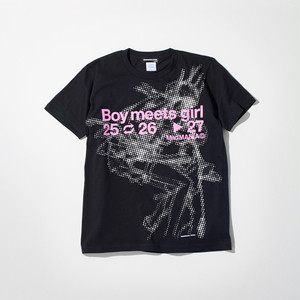 SDAT Boy meets girl Tee (Shinji Mari) 黒 (M)