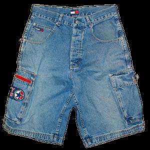 """""""90s Tommy Hilfiger"""" Vintage Denim Shorts Used"""