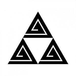 三つ鱗形稲妻 aiデータ