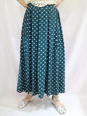 dot pattern  skirt【1280】