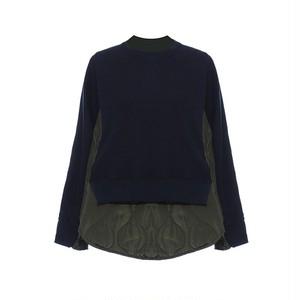 RIMI&Co.SELECT キルティング スウェットトップス   <Quilted Sweatshirt>