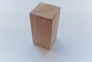 スギの木箱(角柱)《ディフューザー付》